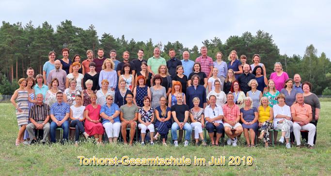 Lehrerkollegium Torhorst Gesamtschule