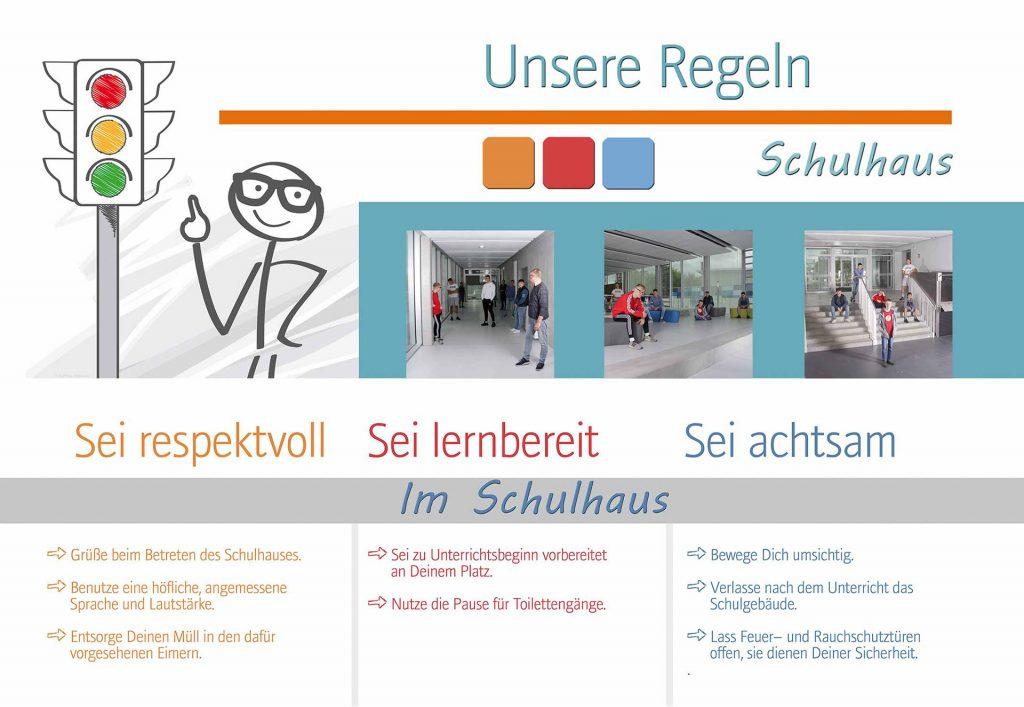 Unsere Regeln - Im Schulhaus